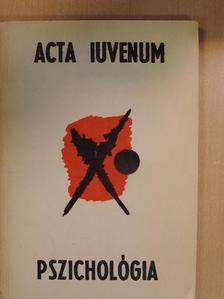 Barkóczi Ilona - Acta Iuvenum [antikvár]
