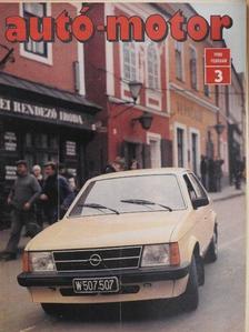 Almássy Tibor - Autó-Motor 1980. február [antikvár]
