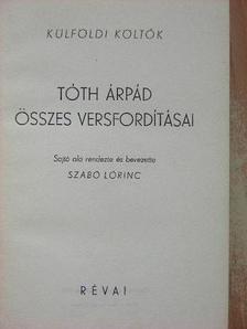 Albert Samain - Tóth Árpád összes versfordításai [antikvár]