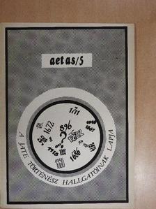 Bárdi Nándor - Aetas 1987/1. [antikvár]