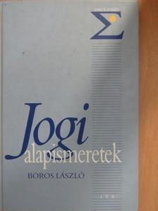 Boros László - Jogi alapismeretek [antikvár]