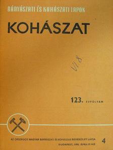 Bánhegyi Attila - Bányászati és Kohászati Lapok - Kohászat 1990. április [antikvár]