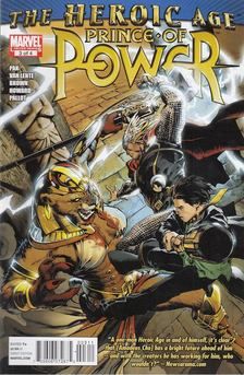 Pak, Greg, Fred Van Lente, Brown, Reilly, Howard, Zach - Heroic Age: Prince of Power No. 3 [antikvár]