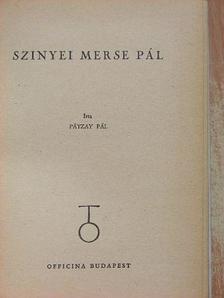 Pátzay Pál - Szinyei Merse Pál [antikvár]