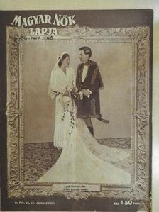 Vass László - Magyar Nők Lapja 1944. augusztus 10. [antikvár]