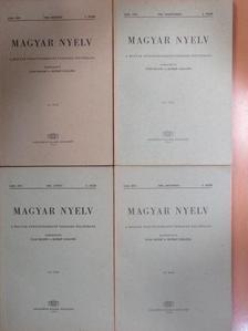 Dienes Erzsébet - Magyar Nyelv 1966/1-4. [antikvár]