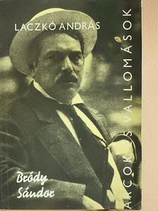 Laczkó András - Bródy Sándor alkotásai és vallomásai tükrében [antikvár]