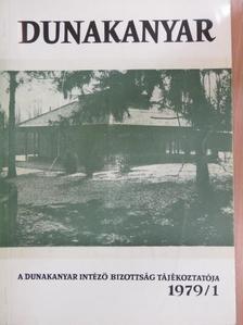 Ágh Biró Béla - Dunakanyar 1979/1. [antikvár]