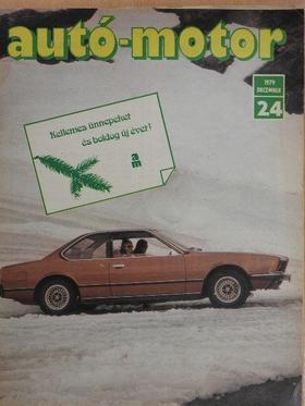 Almássy Tibor - Autó-Motor 1979. december [antikvár]
