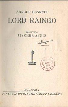 Arnold Bennett - Lord Raingo [antikvár]