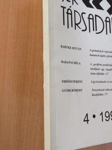Ádám Antal - Tér és Társadalom 1999/1-4. [antikvár]