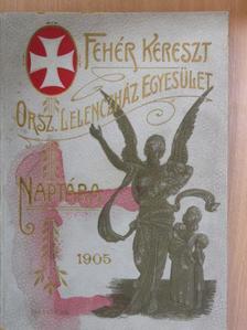 Abonyi Árpád - A Fehér Kereszt Országos Lelenczház Egyesület Naptára az 1905-ik évre [antikvár]