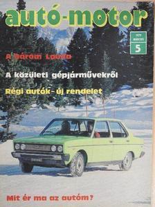 Birkás György - Autó-Motor 1979. március [antikvár]