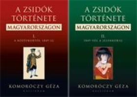 Komoróczy Géza - A zsidók története Magyarországon I-II.