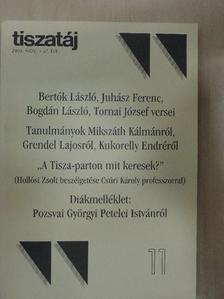 Acsai Roland - Tiszatáj 2003. november [antikvár]