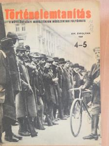 Békés Tamásné - Történelemtanítás 1969/4-5. [antikvár]