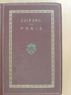 Zola Emil - Páris [antikvár]