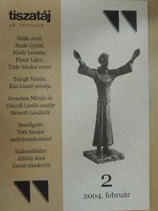 Alföldy Jenő - Tiszatáj 2004. február [antikvár]