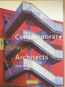 Philip Jodidio - Contemporary European Architects IV. [antikvár]