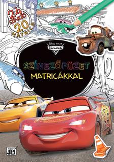 Disney - Színezőfüzet matricákkal - Verdák (20 matrica)
