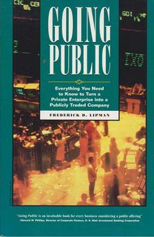 Lipman, Frederick D. - Going Public [antikvár]