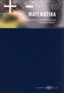 GERŐCS-VANCSÓ SZERK. - Matematika