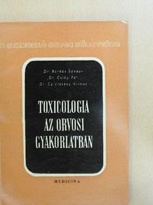 Dr. Bordás Sándor - Toxicologia az orvosi gyakorlatban [antikvár]