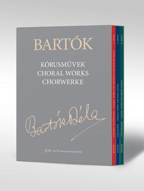 Bartók Béla - KÓRUSMŰVEK - VÁSZONKÖTÉSES, DÍSZDOBOZOS KIADÁS