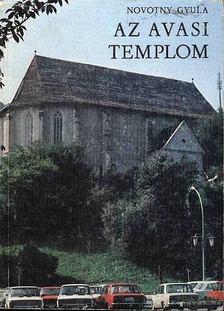 NOVOTNY GYULA - Az avasi templom [antikvár]
