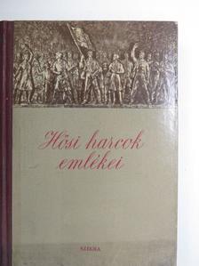 Aranyossi Magda - Hősi harcok emlékei [antikvár]
