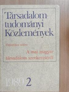Andics Jenő - Társadalomtudományi Közlemények 1989/2. [antikvár]