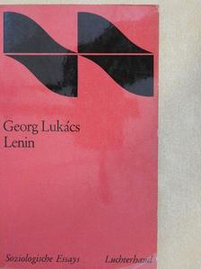 Georg Lukács - Lenin [antikvár]