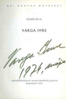 Szabó Júlia - Varga Imre (aláírt) [antikvár]