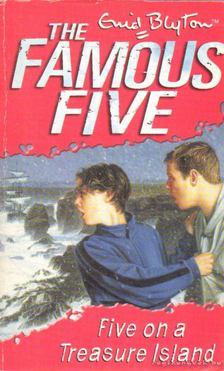Blyton, Enid - Five on a Treasure Island [antikvár]