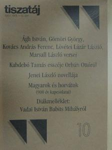 Ágh István - Tiszatáj 2002. október [antikvár]