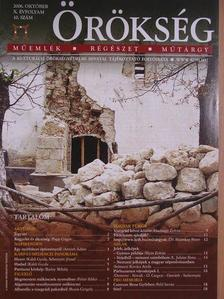 Arnóth Ádám - Örökség 2006. október [antikvár]