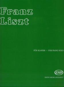 LISZT - WILDE JAGD (ETÜDEN I.) FÜR KLAVIER (SULYOK IMRE/MEZŐ IMRE)