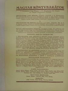 Bulla Béla - Magyar Könyvbarátok Diáriuma 1936. november-december [antikvár]