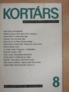 Bakos Ferenc - Kortárs 1981. augusztus [antikvár]