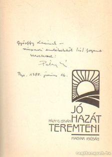 Pálfy G. István - Jó hazát teremteni [antikvár]