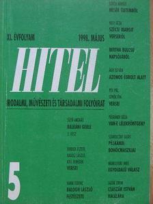 Dobozi Eszter - Hitel 1998. május [antikvár]