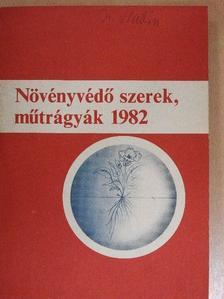 Dr. Bordás Sándor - Növényvédő szerek, műtrágyák 1982 [antikvár]