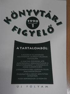 Bakonyi Géza - Könyvtári Figyelő 1998/1. [antikvár]