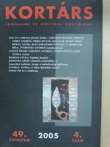 Bókay Antal - Kortárs 2005. április [antikvár]