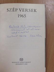 Áprily Lajos - Szép versek 1965 (dedikált példány) [antikvár]