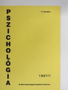 Hidas György - Pszichológia 1997/1. [antikvár]