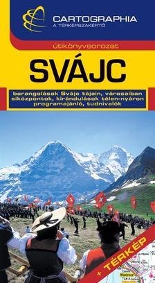 Cartographia Kiadó - Svájc útikönyv