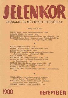 Csordás Gábor - Jelenkor 1988. december [antikvár]