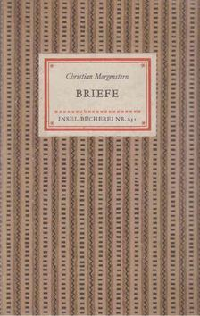 Christian Morgenstern - Briefe [antikvár]