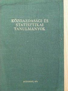Dr. Csizmadia Ernő - Közgazdasági és statisztikai tanulmányok [antikvár]